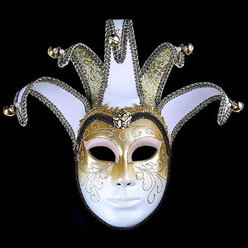 K&C Handgemalte Halloween Masquerade Venedig Party Lace Maske (Katze Brillen Cheshire)