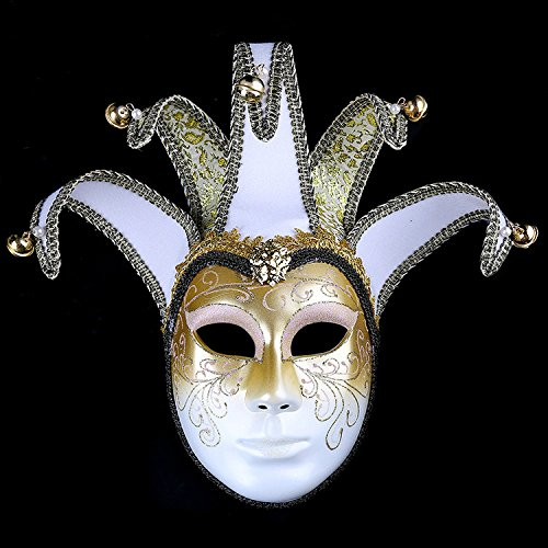 K&C Handgemalte Halloween Masquerade Venedig Party Lace Maske (Maske Cheshire Katze)