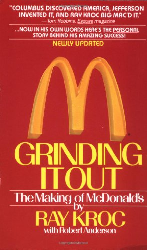 Buchseite und Rezensionen zu 'Grinding It Out: The Making of Mcdonalds' von Ray Kroc