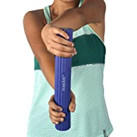 SIMIEN Flexible Rubber Twist Bar - 3 Resistance Bar Levels In 1 - Tennis Elbow, Golfer's Elbow, Tendinitis, Works With Brace & Sleeves - Flex & Twist Elbow, Wrist, Forearm Pain Relief - 2 BONUS eBooks