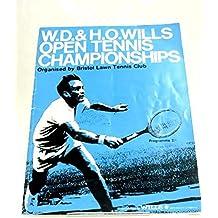 Wills Open Tennis Championship Programme 1970