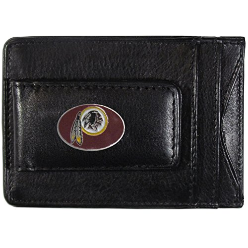 Siskiyou NFL-Kartenhalter aus Leder, Damen, Washington Redskins, Each