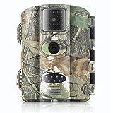 Cámara de Caza,Vizzlema 12MP Full HD Trail Cámara Impermeable IP65 con Infrarrojos PIR Sensor de Movimiento 65ft Visión Nocturna de Caza para Hogar Vigilancia & Caza,Monitor de Salvajes