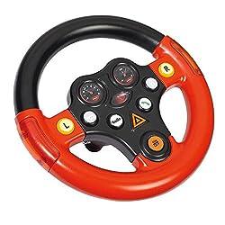 Big Spielwarenfabrik Big 800056459 - Bobby Cars, Zubehör Verkehrssounds Wheel, Schwarz, Rot