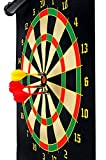 Slyk Magnetic Dart Board Set 15' With 6 Magnet Dart Needles