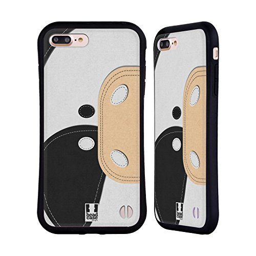 Head Case Designs Koala Animaux - Tache Serie 1 Étui Coque Hybride pour Apple iPhone 5 / 5s / SE Vache