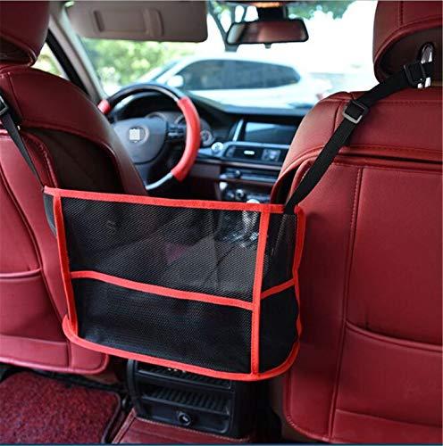MS.REIA Autositz Doppel Speichernetzbeutel Tasche multifunktions Auto Lebensmittel Organizer Sitz Rückenprotektor