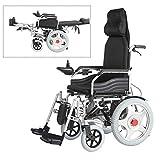JL-Q Klappbehinderte Elektro-Rollstuhl Alt-intelligente automatische vierrädrige Roller Behinderter Roller kann halb liegend liegen