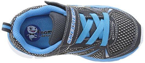 Skechers - Speedeesdrifterz, Sneaker basse Bambino Blu (Blau (NVBL))