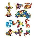 Goolsky 207PCS Magnetic Blocks Building Toys Costruzione magnetica educativo accatastamento e gioco di apprendimento per i bambini