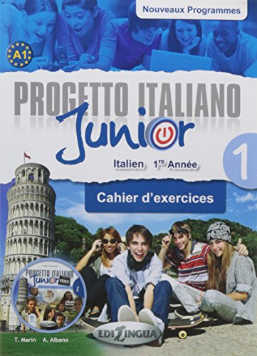 Progetto italiano Junior 1 : Cahier d'exercices