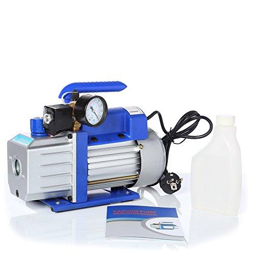 Melko® Vakuum-Pumpen Unterdruckpumpe Blau Leistung bis 100 l/min wählbar mit Motor (71 l/min)