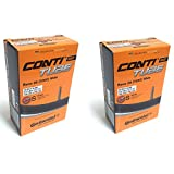 Continental Race 28 700 x 25-32c Bike Inner Tubes - Presta 42mm Long Valve (Pair)