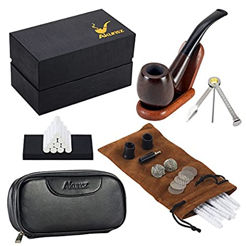 Pipes A Tabac - AKUNSZ Tabac à Pipe en Bois Fumeur
