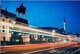 Posterlounge Acrylglasbild 180 x 120 cm: Berlin - Unter den Linden von Alexander Voss - Wandbild, Acryl Glasbild, Druck auf Acryl Glas Bild