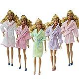 ZITA ELEMENT 2 SET di indumenti da notte fatti a mano Accappatoi per vestiti da Barbie