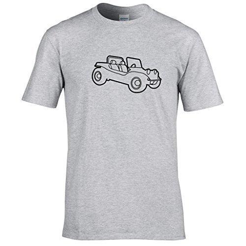 Strandbuggy T-shirt Sport Grau