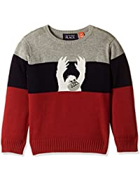 The Children's Place Baby Boys' Knitwear (20709181027_Classic Red_2 Toddlers)