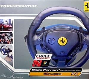 Thrustmaster Enzo Force Feedback Racing Wheel - Ensemble volant et p?dales