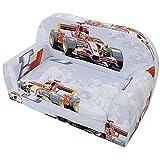 Kindersofa Kindersessel Kindercouch Kindermöbel Klappsessel Bettfunktion Sofa DESIGN 4