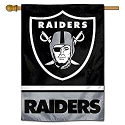 Wincraft Oakland Raiders Doppelseitige Hausflagge