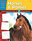 Draw and Color Horses & Ponies