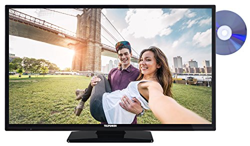 Telefunken XF32A201D 81 cm (32 Zoll) Fernseher (Full HD, Triple Tuner, DVB-T2 H.265/HEVC, Smart TV, DVD-Player)