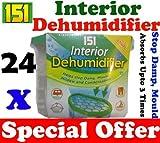 24 x Interior portátil deshumidificador/De la humedad humidificador De aire húmedo De removedor De...