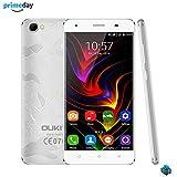 OUKITEL C5 PRO 5.0 Smartphone Débloqué 4G ( Ecran : 5,0 pouces -16Go ROM-2 Go RAM - Android 6.0 Quad Core- Caméra 5.0MP & 2.0MP- Double SIM) (Argent)
