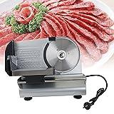 Aufschnittmaschine Gastro Electric Food Slicer Fleisch Commercial Stahl Käse Schnitt Restaurant Haus 7.5