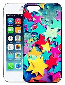 FCS® Printed 2D Designer Hard Back Case For Apple iPhone 5s