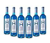 MDA Vino Azul Chardonnay - Wein-Blau 100 % Natürliche (6 Flaschen)
