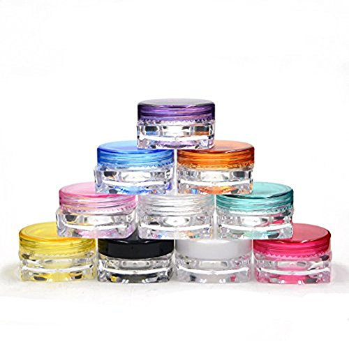 10pcs-plastic-empty-multi-color-sample-cosmetic-boxs-vial-bottles-round-pot-jars-fit-for-lip-balm-lo