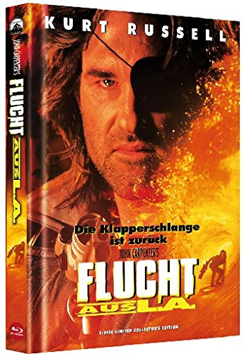 Flucht aus L.A. - Mediabook (+ DVD) [Blu-ray] [Limited Collector's Edition]