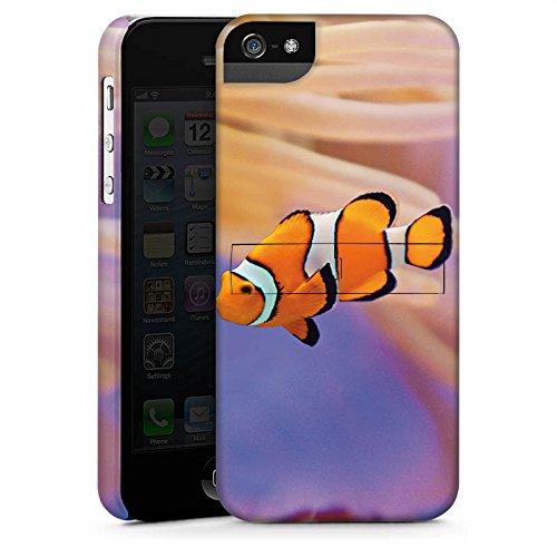 Apple iPhone 3Gs Housse étui coque protection Poisson anémone Poisson clown Poisson Némo CasStandup blanc