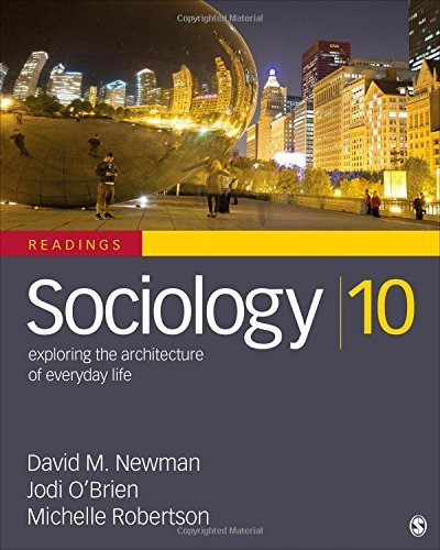 Sociology, Exploring the Architecture of Everyday Life: Readings (2014-12-03)