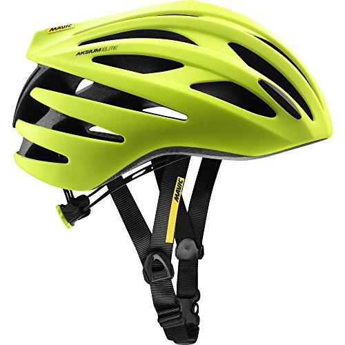 Mavic Aksium Elite Rennrad Fahrrad Helm gelb 2018: Größe: M (54-59cm)