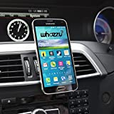 Phone Holder Magnetic Car Mount for Air Vent Moneyback Guarantee works with all Mobile Phones Iphone 6 / 6 plus / 5 / 5s / 5c / 4 / 4s , Samsung Galaxy S6 / S5 / S4 / Note 4 / 3 and all Other Smartphones & GPS Devices - Whozzus Best in Car Phone Holders + Mounts your Phone Quickly and Securely & Safely in an Instant with One Hand