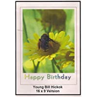 Young Bill Hickok: 16x9 Widescreen TV: Greeting Card: Happy Birthday by Roy Rogers