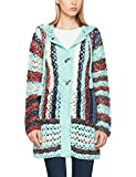 khujo Damen Strickjacke LADDY Chunky Cardingan Knit, Mehrfarbig (Pause A33), 40 (Herstellergröße:M)