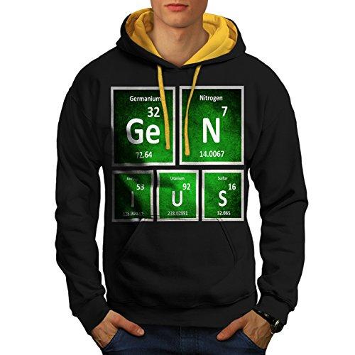 genie-periodique-signe-chimie-homme-nouveau-noir-avec-capuche-dore-xl-capuchon-contraste-wellcoda