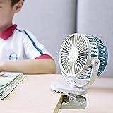 Best Fans Computer di raffreddamento - USB clip fan personali, scrivania, funzionamento silenzioso ventilatore Review