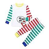 Weihnachten Baby Kleidung Set Kinder Pullover Pyjama Outfits Set Familie Kinder Baby Boy Girl T Shirt Tops Hosen Familie Pyjamas Nachtwäsche Weihnachten Outfits ABsoar Familienanzug Pyjamas