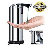 Best distributeur automatique de savon - Distributeur de savon automatique, GUGUO 280ml Détecteur de Review