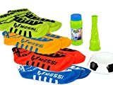 Messi Footbubbles Starter Pack with Socks (Green)