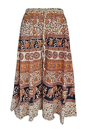 Amber Women's Cotton Palazzo Bottom (Multicolor)