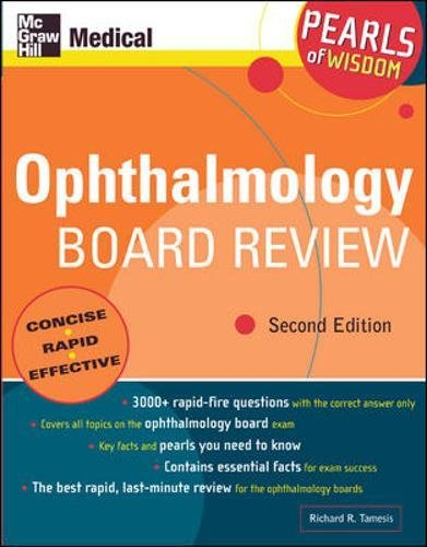 Ophthalmology Board Review: Pearls of Wisdom, Second Edition por Richard R. Tamesis