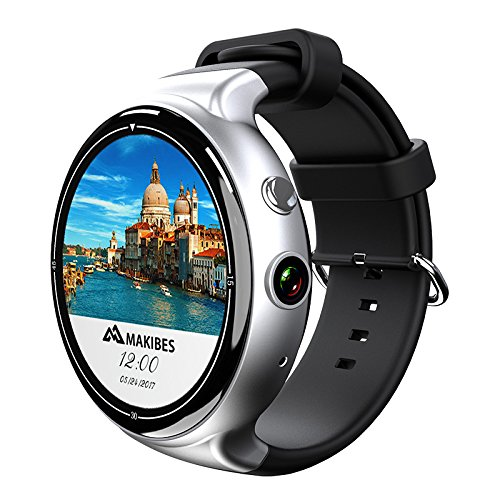 I4 Air Smart Watch Phone 1 IMEI 3G 5MP Camera WiFi Calls Messages Android OS - Prepaid Wireless Phone