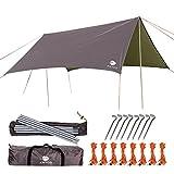 Best Camping Tarps - Anyoo Ripstop Rain Tarp Beach Tent Hammock Fly Review