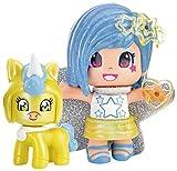 Pinypon- Estrella con Mascota, Pack A A (Famosa 700014276)